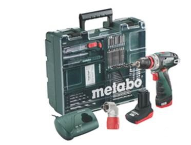 Metabo PowerMaxx BS Quick Pro 10.8v Driver Set