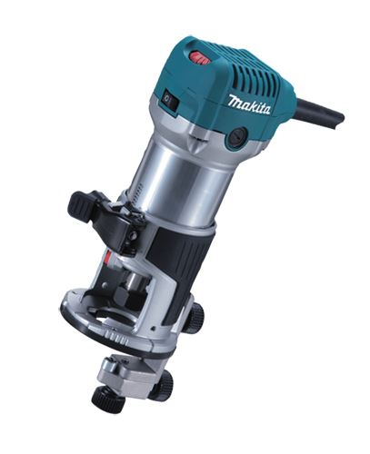 Makita 110V Trimmer c/w Round Base