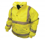 Hi-Vis Bomber Jacket Yellow - Extra Large