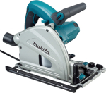 Makita Plunge Saw 165mm 110v + 1400mm Guide Rail