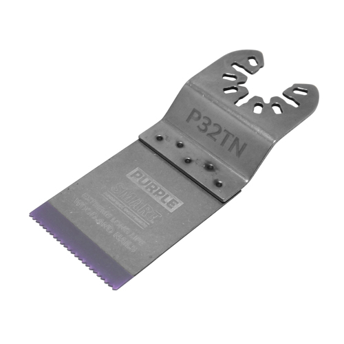Purple 32mm Titanium Alloy Bi-Metal Blade