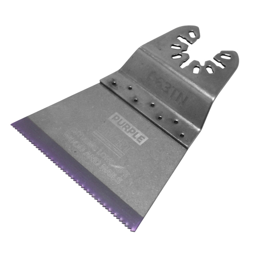 Purple 63mm Titanium Alloy Bi-Metal Blade