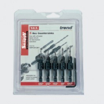 SNAPPY 5 PC COUNTERSINK SET