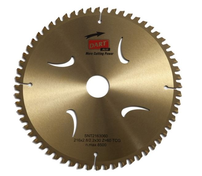 216mmx60Tx30mm Power Fixings Circular Saw Blade ATB