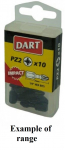 DART PH1 25mm Impact Driver Bit - Pack 10