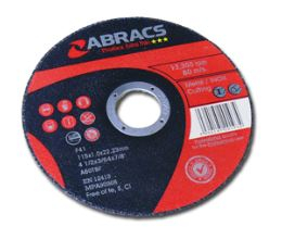 115x1.0x22mm Extra Thin Flat Cutting Disc