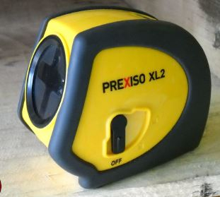 Prexiso XL2 Self Levelling Cross Line Laser Level