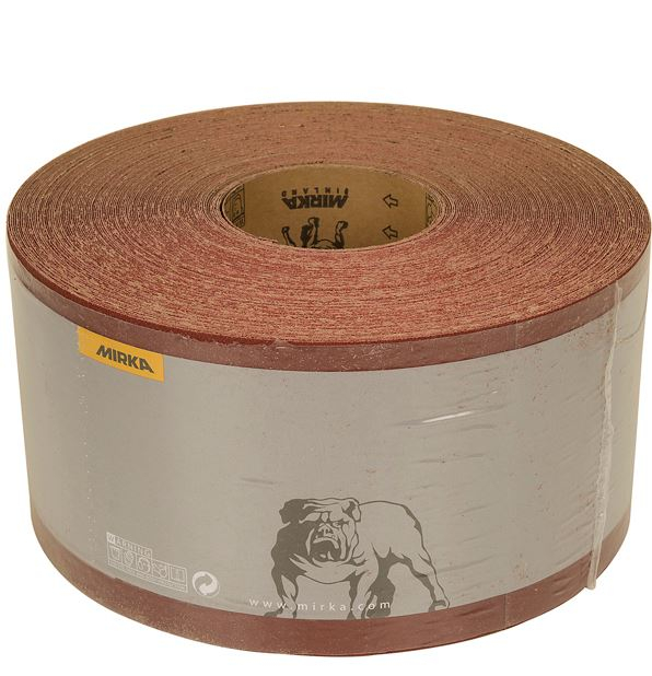 115mm x 50m x 240g Avomax Plus Abrasive Paper Roll