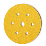 150mm x 80g Velcro Backed Discs (7 hole)