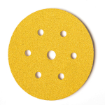 150mm x 180g Velcro Backed Discs (7 hole)