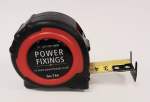 5m Power Fixings Premium Dual Printed 25mm Wide Tape Measure