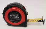 8m Power Fixings Premium Dual Printed 25mm Wide Tape Measure