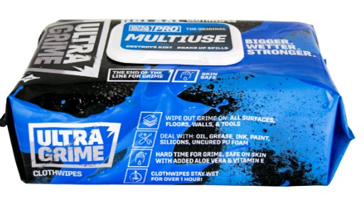Ultragrime Cleaning Wipes Pack